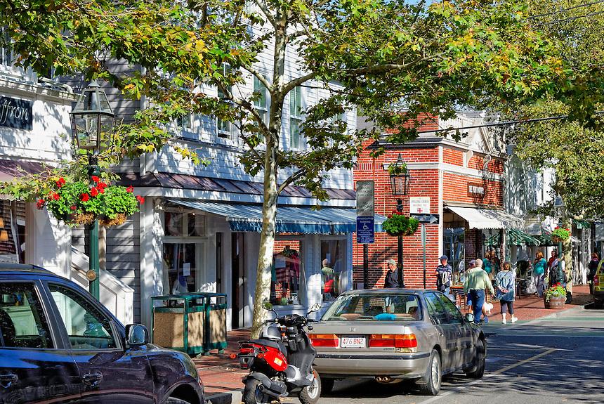Shops, Edgartown, Martha's Vineyard, Massachusetts,, USA