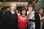 """Barbara O'Connell, Clodagh Corry and Anne Rolston at """"Who Wants to be a Thousandaire"""" in aid of Le Cheile School at the Boyne Valley Hotel...Photo NEWSFILE/Jenny Matthews.(Photo credit should read Jenny Matthews/NEWSFILE)....This Picture has been sent you under the condtions enclosed by:.Newsfile Ltd..The Studio,.Millmount Abbey,.Drogheda,.Co Meath..Ireland..Tel: +353(0)41-9871240.Fax: +353(0)41-9871260.GSM: +353(0)86-2500958.email: pictures@newsfile.ie.www.newsfile.ie.FTP: 193.120.102.198."""
