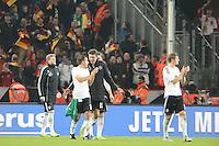 Nationalmannschaft feiert mit den Fans die WM-Qualifikation - WM Qualifikation 9. Spieltag Deutschland vs. Irland in Köln