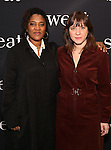 Lynn Nottage and Kate Whoriskey attend the photocall for the Broadway cast of 'Sweat'  at The New 42nd Street Studios on 2/16/2017 in New York City.