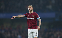 West Ham United's Marko Arnautovic<br /> <br /> Photographer Rob Newell/CameraSport<br /> <br /> The Premier League - Chelsea v West Ham United - Monday 8th April 2019 - Stamford Bridge - London<br /> <br /> World Copyright &copy; 2019 CameraSport. All rights reserved. 43 Linden Ave. Countesthorpe. Leicester. England. LE8 5PG - Tel: +44 (0) 116 277 4147 - admin@camerasport.com - www.camerasport.com