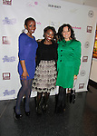 Delaina Dixon and Samantha von Sperling at Color of Beauty Awards hosted by VH1's Gossip Table's Delaina Dixon and Maureen Tokeson-Martin on February 28, 2015 with red carpet, awards and cocktail reception at Ana Tzarev Gallery, New York City, New York.  (Photo by Sue Coflin/Max Photos)