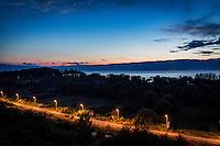 Makedonien.Udsigt over Ohridsøen fra Villa Marta. Foto: Jens Panduro