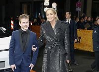 Sharon Stone and son Roan at the GQ Men of the Year Awards in Berlin, Germany 07 Nov 2019. Credit: Action Press/MediaPunch ***FOR USA ONLY***