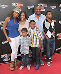 Holly Robinson Peete and family at The Weinstein Company World Premiere of Spy Kids: All the Time in the World in 4 held at The Regal Cinames,L.A. Live in Los Angeles, California on July 31,2011                                                                               © 2011 Hollywood Press Agency
