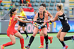 The Hague, Netherlands, June 14: xxx during the field hockey placement match (Women - Place 5th/6th) between the Black Sticks of New Zealand and China on June 14, 2014 during the World Cup 2014 at Kyocera Stadium in The Hague, Netherlands. Final score 4-0 (1-0)  (Photo by Dirk Markgraf / www.265-images.com) *** Local caption ***