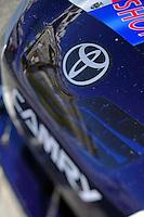 14 February, 2010, Daytona Beach, Florida USA USA.The nose of Brian Vicker's Toyota Camry.©F. Peirce Williams 2010 USA.