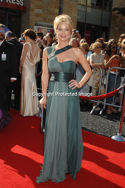 Jennifer Gareis ..arriving at The 34th Annual Daytime Emmy Awards on ..June 15, 2007 at The Kodak Theatre in Hollywood, California. ..Robin Platzer, Twin Images......212-935-0770