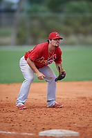 St. Louis Cardinals third baseman Dylan Becker (40) during a Minor League Spring Training intrasquad game on March 31, 2016 at Roger Dean Sports Complex in Jupiter, Florida.  (Mike Janes/Four Seam Images)