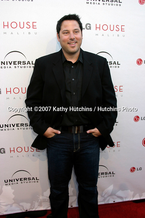 Greg Grunberg.Universal Media Studios Emmy Party.LG House.Malibu, CA.August 2, 2007.©2007 Kathy Hutchins / Hutchins Photo....