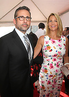 NEW YORK, NY - AUGUST 6, 2012: Nancy Carell and Steve Carell at the 'Hope Springs' premiere at the SVA Theater on August 6, 2012 in New York City. &copy;&nbsp;RW/MediaPunch Inc. /NortePhoto.com<br />