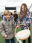Nico and Ava DeMarchis at the East Meath United Easter Egg Hunt. Photo:Colin Bell/pressphotos.ie
