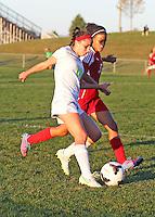 Girls JV Soccer vs. Pike 9-21-15