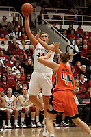 STANFORD, CA - FEBRUARY 20:  Joslyn Tinkle of the Stanford Cardinal during Stanford's 82-48 win over Oregon State on February 20, 2010 at Maples Pavilion in Stanford, California.