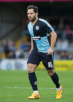 Sam Wood of Wycombe Wanderers during the Sky Bet League 2 match between Wycombe Wanderers and Oxford United at Adams Park, High Wycombe, England on 19 December 2015. Photo by Andy Rowland.
