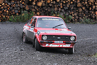 Viv Hamill / Paul Sheridan at Junction 9 on Craignell, Special Stage 1 of the Ian Broll Merrick Stages Rally 2012, Round 7 of the RAC MSA Scotish Rally Championship which was organised by Machars Car Club and Scottish Sporting Car Club and based in Wigtown on 1.9.12.