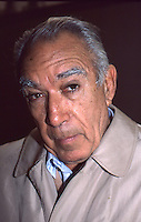 Anthony Quinn 1987 NYC By Jonathan Green