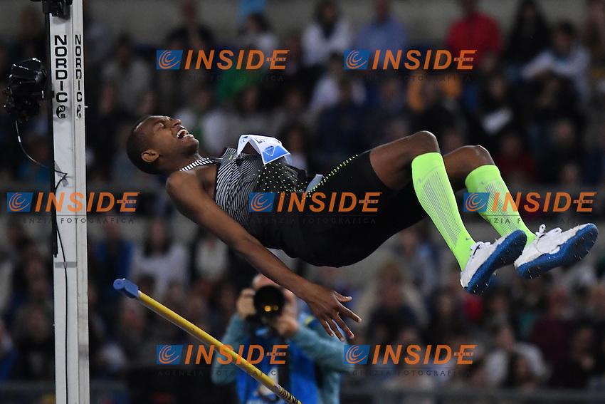 Mutaz Essa BARSHIM QAT <br /> Roma 02-06-2016 Stadio Olimpico <br /> IAAF Diamond League Golden Gala <br /> Atletica Leggera<br /> Foto Andrea Staccioli / Insidefoto
