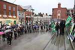 Water Charges March at St.Peters Steps, Drogheda