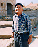 CROATIA, Hvar, Dalmatian Coast, Island, portrait of a local Ivan Tomisic in the island of Hvar.