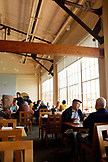 USA, California, San Francisco, Greens restaurant in Fort Mason