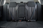 Rear back seats of a 2006 Nissan Altima 2.5S