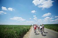riding into the beautiful clowds<br /> <br /> 2014 Belgium Tour<br /> stage 4: Lacs de l'Eau d'Heure - Lacs de l'Eau d'Heure (178km)