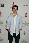 Corey Cott - lead in Broadway's Newsies at The 26th Annual Broadway Flea Market and Grand Auction to benefit Broadway Cares/Equity Fights Aids on September 23, 2012 in Shubert Alley and Times Square, New York City, New York.  (Photo by Sue Coflin/Max Photos)