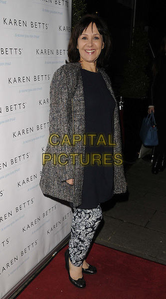 LONDON, UNITED KINGDOM - NOVEMBER 25: Arlene Phillips attends the Gift of Confidence party hosted by make up artist Karen Betts at Vanilla on November 25, 2013 in London, England. <br /> CAP/CAN<br /> &copy;Can Nguyen/Capital Pictures