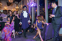 Little Black Dress Designer Party in Purple at The Dunlavy