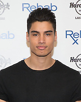 LAS VEGAS, NV - April 27 : Siva Kaneswaran pictured as   The Wanted perfrom at REHAB Pool Party at Hard Rock Hotel & Casino in Las Vegas, NV on April 27, 2014. © Kabik/ Starlitepics ***HOUSE COVERAGE*** /NortePhoto