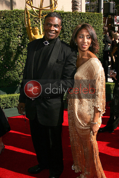 Keith David and friend<br />