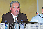 Denis Buckley Chairman at the Kerry AGM in the Brandon Hotel, Tralee, on Tuesday   Copyright Kerry's Eye 2008