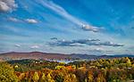 Jesień w Bieszczadach - Polańczyk