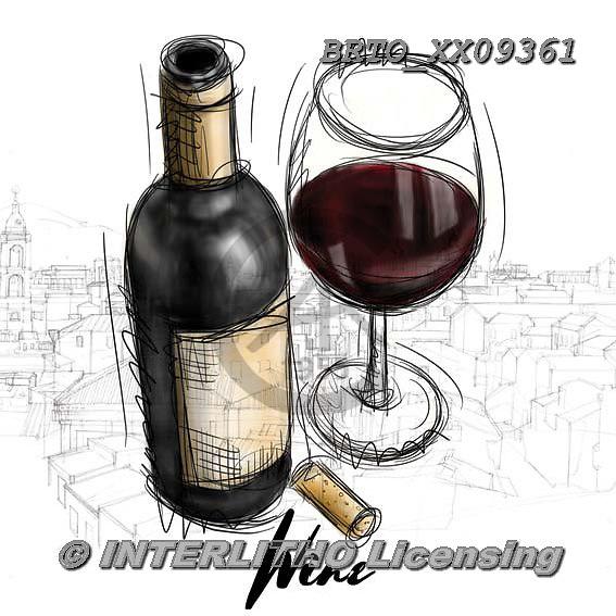 Alfredo, STILL LIFE STILLLEBEN, NATURALEZA MORTA, paintings+++++,BRTOXX09361,#i# ,wine ,wine