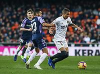 2019.01.12 La Liga Valencia CF VS Real Valladolid