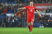 Andrew Crofts of Wales during the International Friendly match between Wales and Panama at The Cardiff City Stadium, Wales, UK. Tuesday 14 November 2017