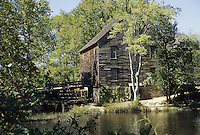 Batsto Historic Village, New Jersey.  The Sawmill, built 1882, produced lumber products and shingles