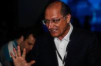 SAO PAULO, SP, 02 AGOSTO 2012 - ELEICOES 2012 - DEBATE BAND - PREFEITURA DE SP - Governador Geraldo Alckmin durante debate da Tv Bandeirantes de Sao Paulo, nesta quinta-feira, na regiao sul da capital paulista. (FOTO: VANESSA CARVALHO / BRAZIL PHOTO PRESS).