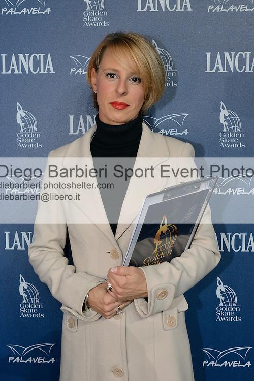 20/10/2012 - Grandi nomi del pattinaggio di figura su ghiaccio, si esibiscono per il Golden Skate 2012 al Palavela di Torino, il 20 ottobre 2012.<br /> <br /> Barbara Fusar Poli