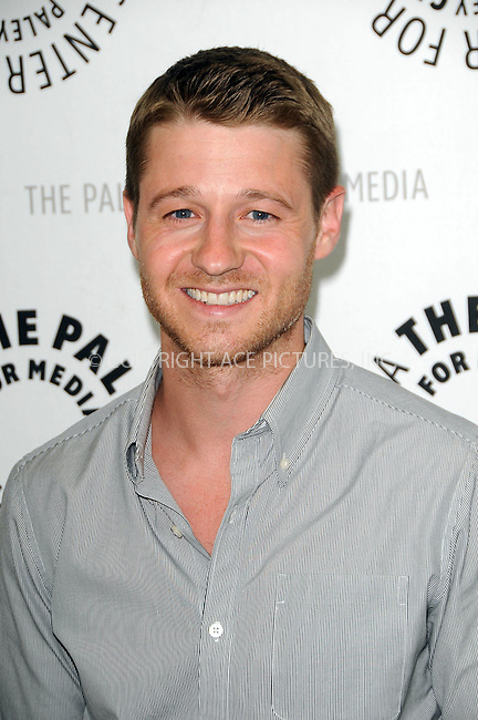 WWW.ACEPIXS.COM . . . . .  ....May 31 2011, LA....Ben McKenzie arriving at The Paley Center for Media's Evening with 'Southland' at The Paley Center for Media on May 31, 2011 in Beverly Hills, California.....Please byline: PETER WEST - ACE PICTURES.... *** ***..Ace Pictures, Inc:  ..Philip Vaughan (212) 243-8787 or (646) 679 0430..e-mail: info@acepixs.com..web: http://www.acepixs.com