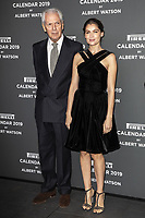 "Marco Tronchetti Provera (Pirelli's President), Laetitia Casta attend the official presentation of the Presentation of the Pirelli Calendar 2018 ""The cal"" held at the Pirelli headquarter. Milan (Italy) on december 5, 2018. Credit: Action Press/MediaPunch ***FOR USA ONLY***"