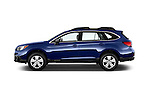 Car Driver side profile view of a 2015 Subaru Outback 2.5i CVT 4 Door Wagon Side View