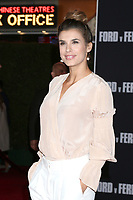 """LOS ANGELES - NOV 4:  Elisabetta Canalis at the """"Ford v Ferrari"""" Premiere at TCL Chinese Theater IMAX on November 4, 2019 in Los Angeles, CA"""
