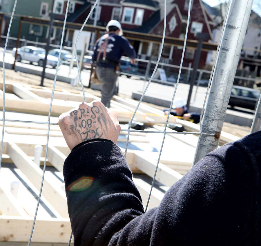 The Amos House carpentry program provides training for entry-level skills.  Graduates may be hired by the for profit entity, Amos House Works that is part of Amos House or by local contractors.  A visit to a job site holds a look into the potential future for a trainee that successfully graduates.
