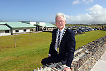 Newly elected Chairman of Kerry County Council Pat McCarthy at his first official event pictured at the official opening of the new &euro;3.5 million Irish language and enterprise development centre in Baile an Fheirt&eacute;araigh, Co Kerry where 2,500 students plan to attend courses  worth &euro;7 million to the local economy. Minister of State for the Diaspora, Jimmy Deenihan T.D. performed the official opening of the Irish language and enterprise centre - L&aacute;rionad Forbartha Gaeilge agus Gaeltachta in Baile an Fheirt&eacute;araigh on Friday. The new centre, which has an area of 1,400 square metres, will provide a range of Irish language based activities and courses, contains a number of enterprise units, and offers services and facilities for the local community.<br /> Photo: Don MacMonagle<br /> <br /> Repro free photo from Udaras na Gaeltachta