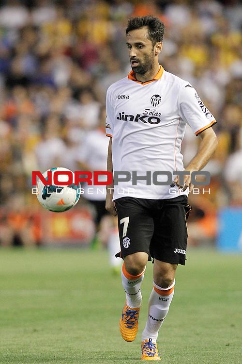 Valencia's Jonas Goncalves during La Liga match.September 1,2013. Foto © nph / Acero)