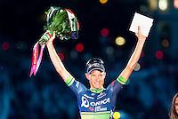 Magnus Cort Nielsen winner of the stage of La Vuelta a España 2016 in Madrid. September 11, Spain. 2016. (ALTERPHOTOS/BorjaB.Hojas) NORTEPHOTO.COM