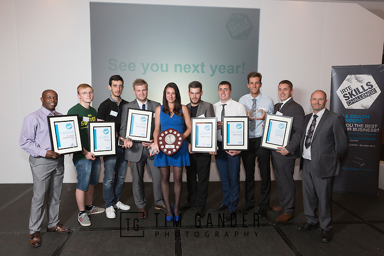 17/07/2015 The IRTE Skills Challenge 2015 prize-giving takes place at The National Motorcycle Museum, Birmingham. Team Arriva with their awards.