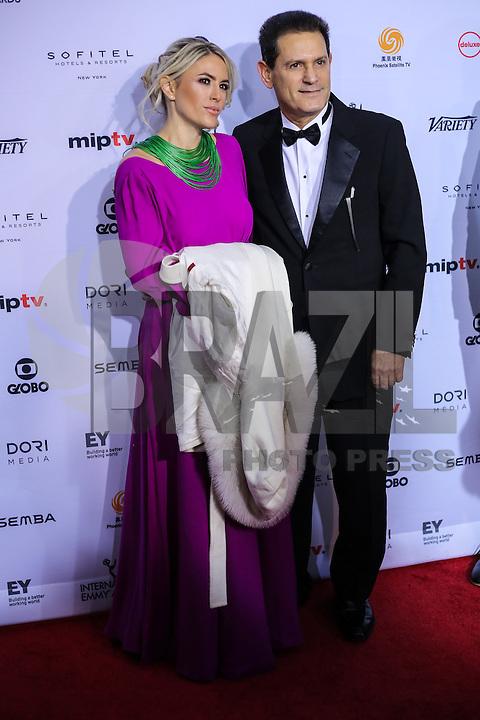 NEW YORK, NY 21.11.2016 - EMMY-2016 -  Nadav Palti  durante tapete vermelho do Emmy Internacional 2016 prêmio dos melhores atores e novelas da TV, em Nova York, nos Estados Unidos na noite desta segunda-feira, 21. (Foto: Vanessa Carvalho/Brazil Photo Press)